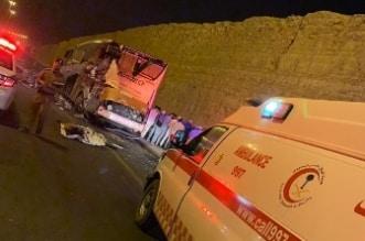 وفاة وإصابة 12 شخصاً في حادث مروع بالأفلاج - المواطن