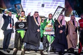 العبدالعالي يتوج ببطولة رالي حائل الدولي 2020 - المواطن