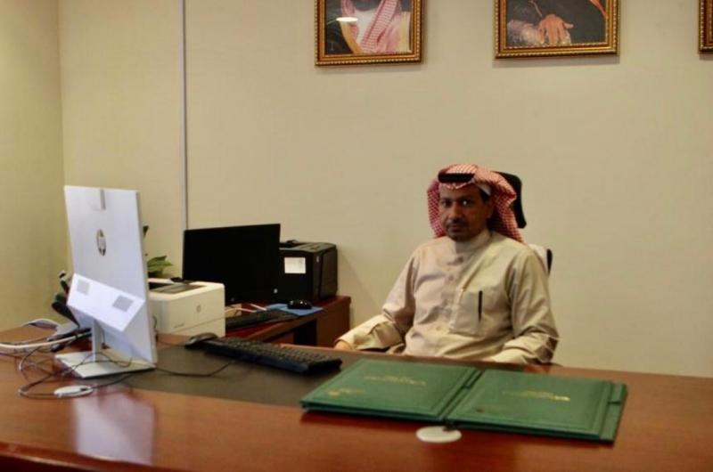 علي بن سعد القباني يباشر عمله بعمل وتنمية الرياض