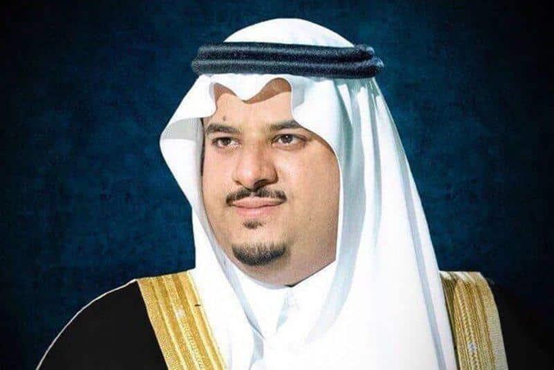 نائب أمير الرياض يقدم العزاء لأسرة ابن فهيد