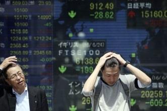 هبوط الأسهم الآسيوية