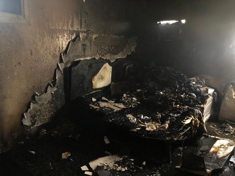 التماس يحرق منزلًا في نجران 1