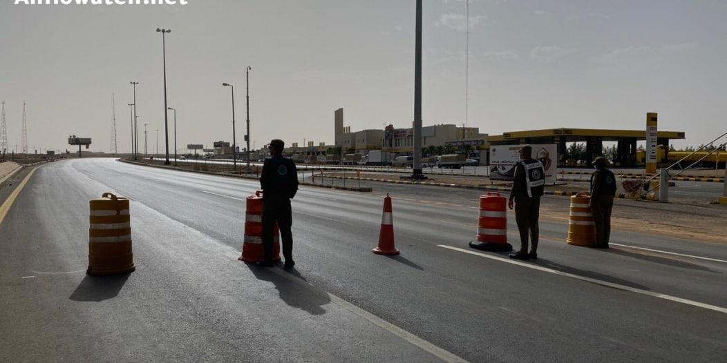 بدء تطبيق منع التجول الكامل في السعودية