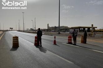 بدء منع دخول الرياض منع التجول تصوير هاشم القرني 9