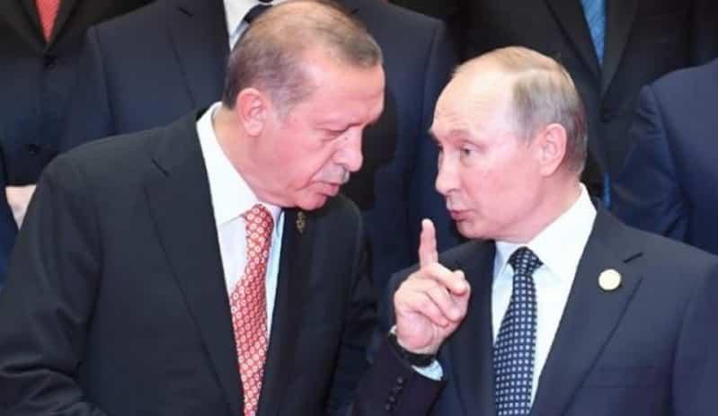 أردوغان وبوتين يتفقان على وقف إطلاق النار في سوريا