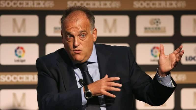 رئيس الليغا: نتمنى عودة الدوري الإسباني في يونيو