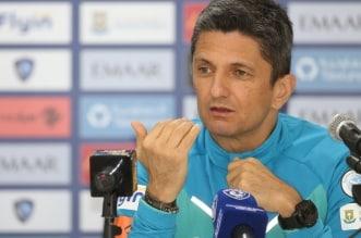 لوشيسكو يتحدث عن مباراة الهلال ضد الاتفاق