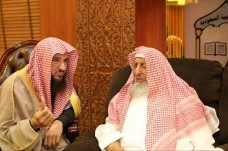 سماحة المفتي يستقبل الشيخ إياد شكري