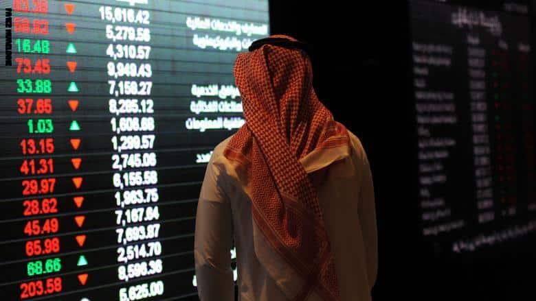 مؤشر الأسهم السعودية يكسب 15 نقطة بتداولات تجاوزت 13 مليار ريال