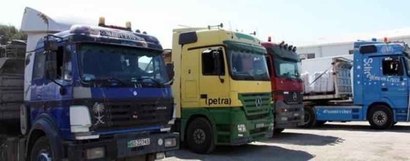 الحجز إلزامي للشاحنات العابرة Transit للأراضي السعودية عبر منفذ البطحاء