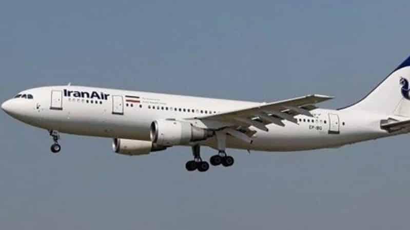 طائرة إيرانية محملة بـ كورونا إلى الصين!