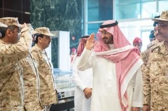عبدالله بن بندر يزور كلية القيادة والأركان 12