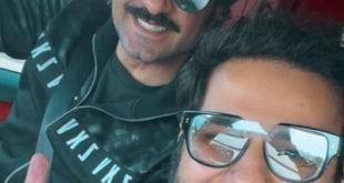 عبدالله بوشهري في أول ظهور بعد خروجه من عزل كورونا