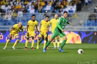 عمر السومة في مباراة النصر والاهلي