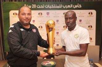 مدربا تونس والسنغال في كاس العرب