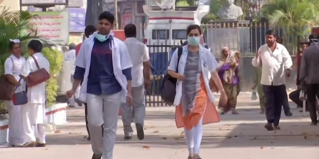 الهند تسجل أعلى عدد إصابات في يوم واحد