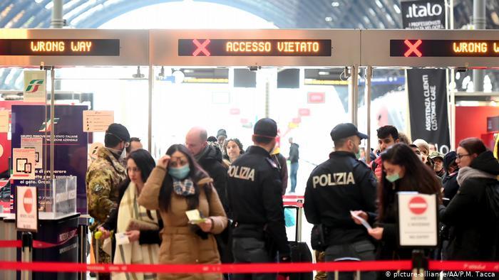 حظر التجول ليلًا في إيطاليا رغم احتجاجات اليمين المتطرف