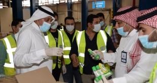 مدير عام مدن يطمئن على جاهزية مصنعين للأدوية والأغذية بالقصيم
