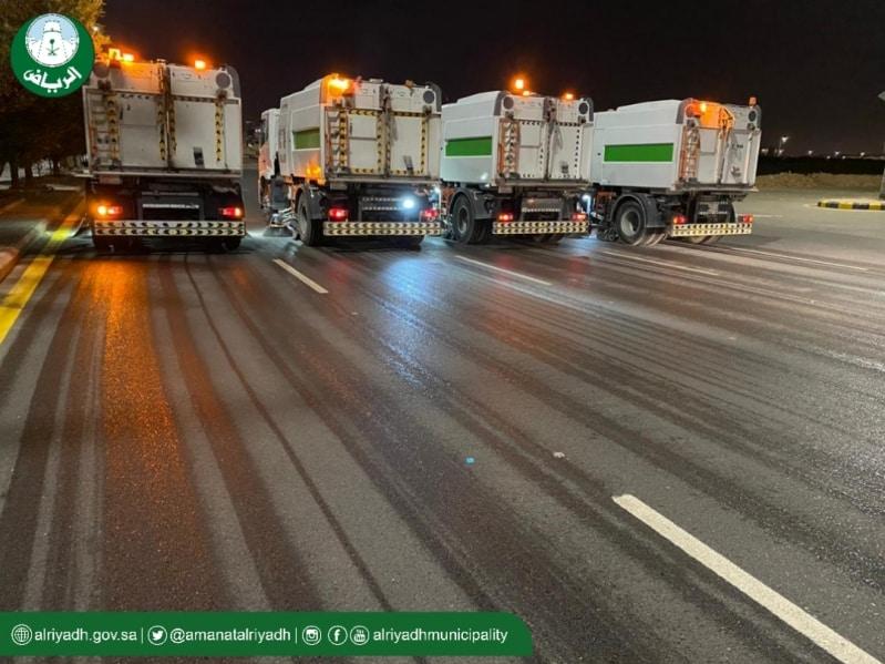 هذا ما يحدث لشوارع الرياض خلال فترة منع التجول
