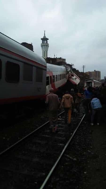 تصادم قطاري ركاب في القاهرة - المواطن