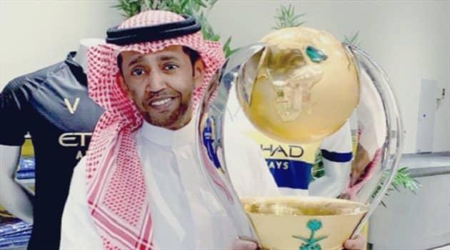 رد النصراويين على وعد بغلف للنادي في حال التتويج بالدوري