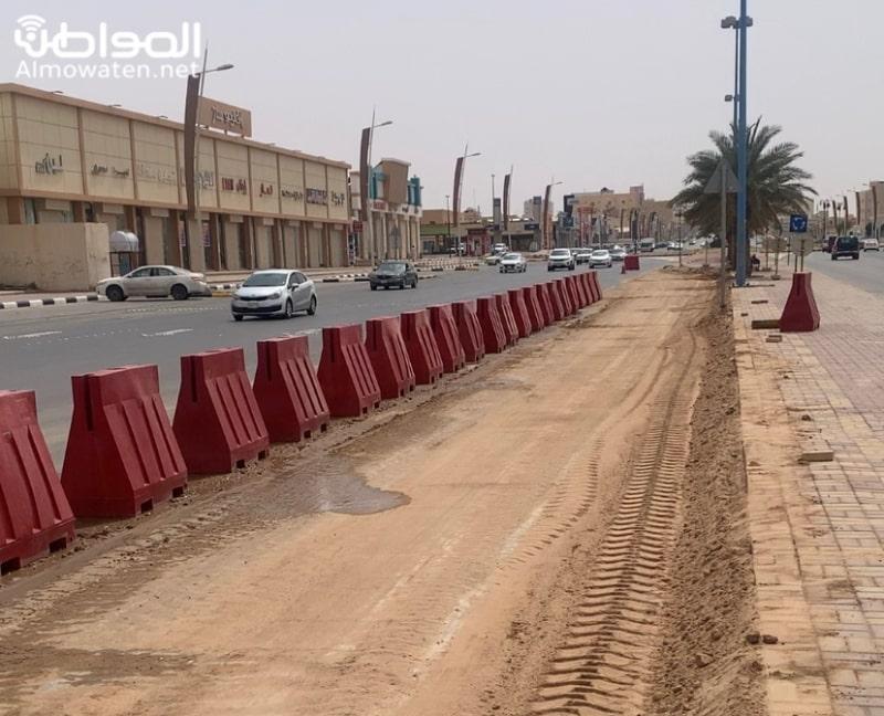 دوار جديد لفك ازدحام طريق الملك فيصل بحفر الباطن - المواطن