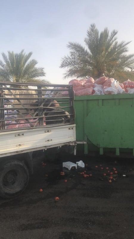 أمانة تبوك تصادر وتتلف ٣٤ ألف كجم خضراوات فاسدة - المواطن