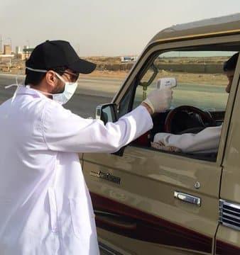 فرق طبية على مداخل طرق القصيم لفحص قائدي المركبات - المواطن
