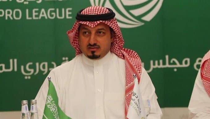 ياسر المسحل رئيس اتحاد القدم