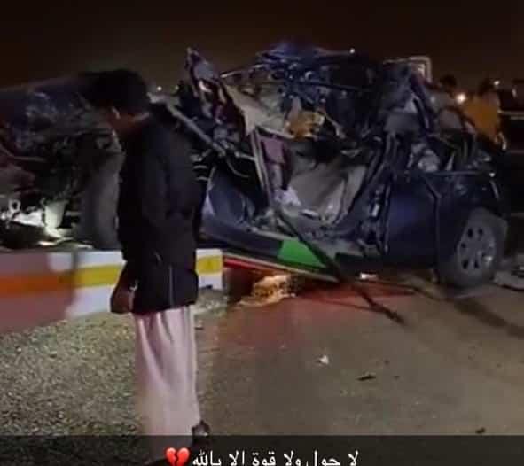 3 وفيات وإصابة شخص بحادث تصادم في بيش