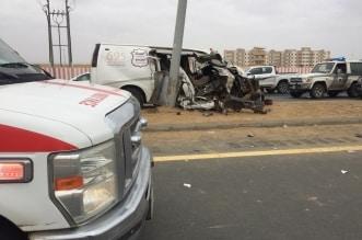 وفاة وإصابتان إثر اصطدام مركبتين في صبيا جازان - المواطن