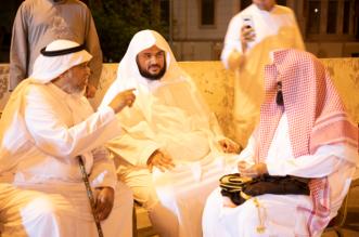 السديس يعزي مؤذن الحرم نايف فيدة بوفاة نجله - المواطن