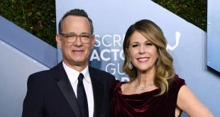 TOM HANKS وزوجته يصابان بـ كورونا