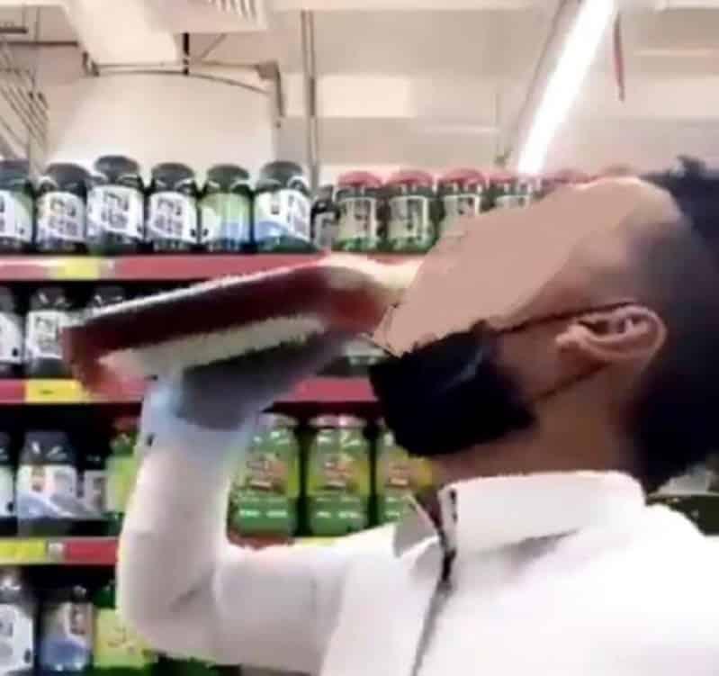 النيابة توجه بالقبض على شخصين شربا أحد المعقمات بزعم أنه يقي من كورونا