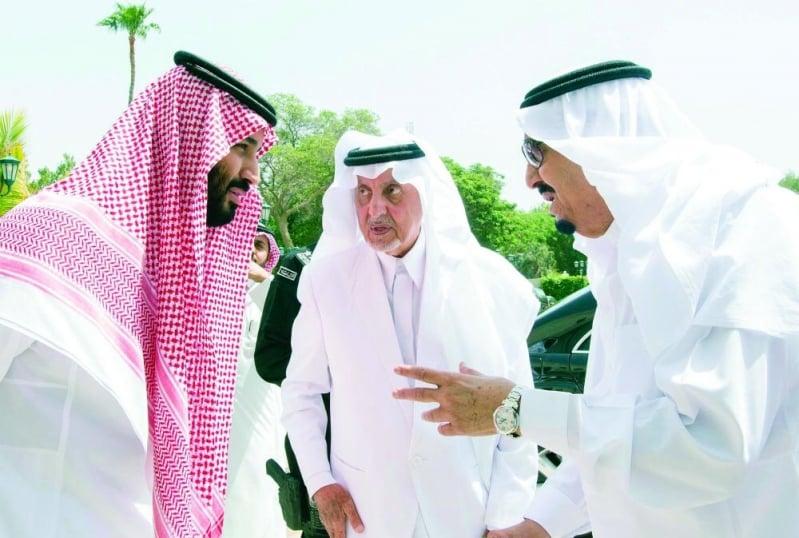 خالد الفيصل في قصيدة جديدة : الحكم هيبة والقيادة شهامة ...