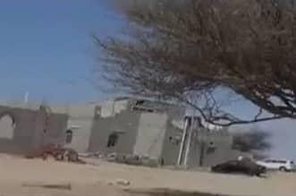 فيديو يظهر لقطات من موقع مواجهة المطلوب عبدالرحيم الحويطي بتبوك - المواطن