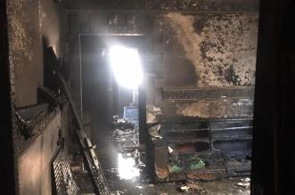 اختناق رجل وامرأة وطفل في حريق شقة بالرياض - المواطن