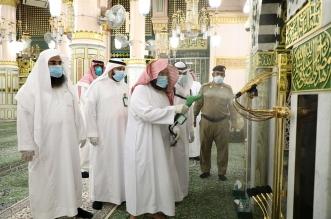 السديس يتفقد تطبيق الإجراءات الاحترازية في المسجد النبوي - المواطن