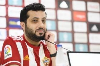 تركي آل الشيخ مالك نادي ألميريا