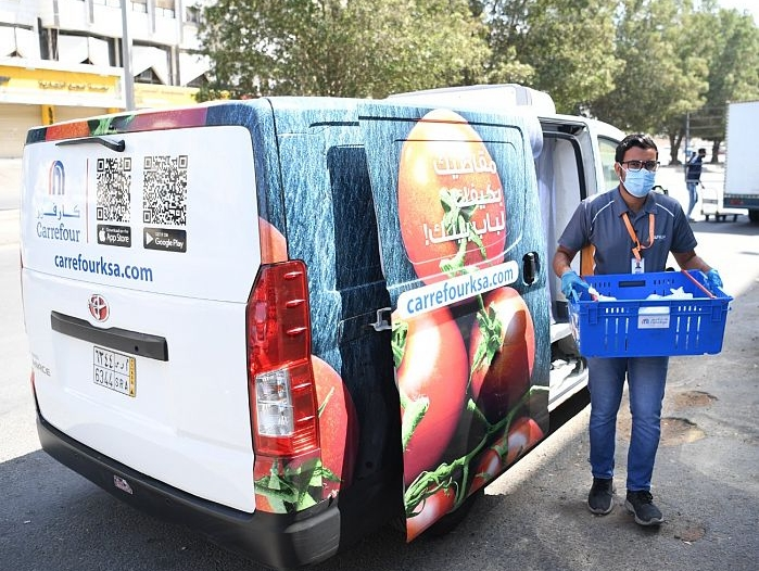 26 مليون طلب عبر تطبيقات التوصيل في السعودية خلال جائحة كورونا