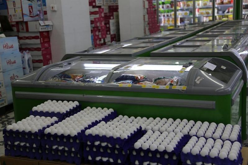 توافر منتجات اللحوم والبيض في متاجر الجوف