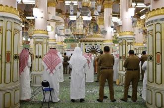 جهود مكثفة ومتواصلة تقدمها رئاسة المسجد النبوي في اتخاذ الإجراءات الاحترازية من فيروس كورونا