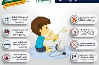 رسائل توعوية تضمن سلامة الأطفال داخل المنازل - المواطن