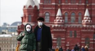 روسيا تسجل 8764 إصابة جديدة بفيروس كورونا