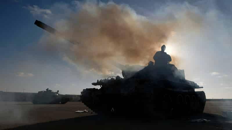 حظر الأسلحة في محيط ليبيا على مائدة بومبيو والاتّحاد الأوروبي