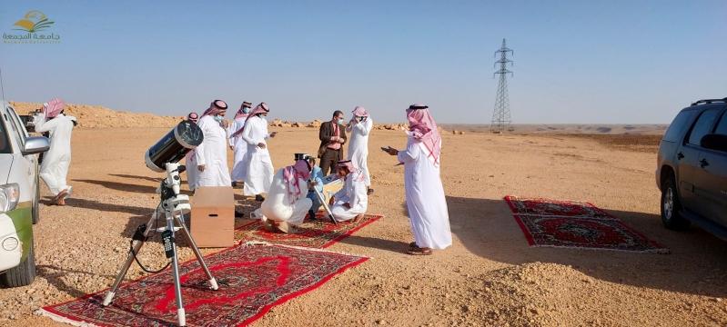 مرصد جامعة المجمعة يعلن رؤية هلال رمضان 1441