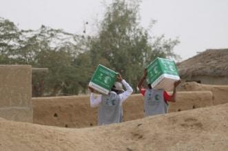 إغاثي الملك سلمان يوزع 160 طناً من السلال الغذائية بالسودان - المواطن
