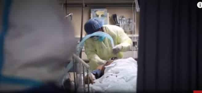 فيديو مؤثر.. الإنعاش القلبي يعيد مصاب كورونا للحياة