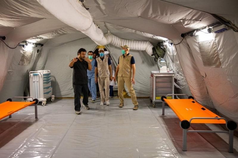 مستشفى ميداني جديد لاستقبال حالات كورونا في مكة المكرمة