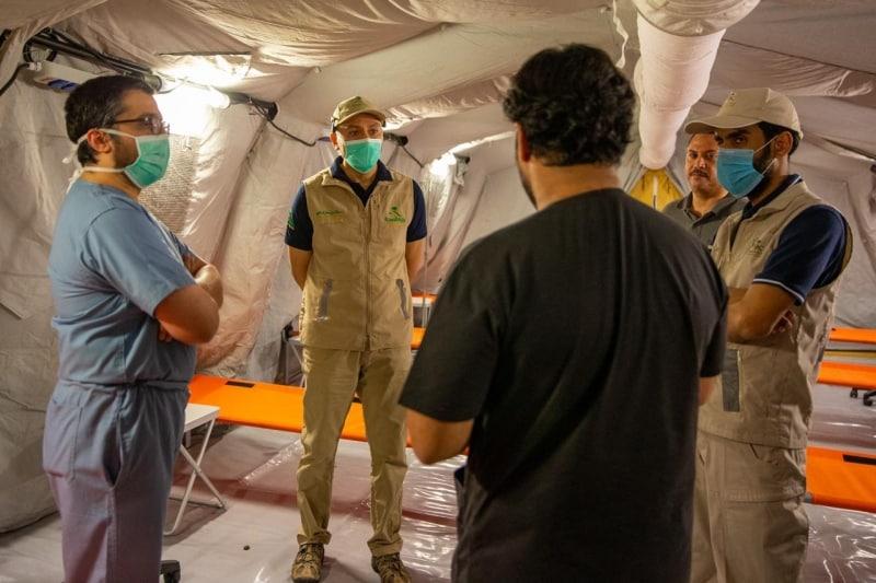 مستشفى ميداني جديد لاستقبال حالات كورونا في مكة المكرمة - المواطن